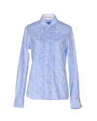 Le Sarte Pettegole - Blue Shirts - Lyst