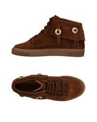 Louis Leeman Brown High-tops & Sneakers for men