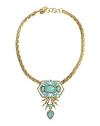 Elizabeth Cole - Multicolor Necklace - Lyst