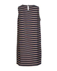 Sophie Hulme Blue Short Dress