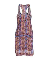 Space Style Concept | Purple Knee-length Dress | Lyst
