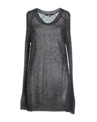 Relish | Gray Short Dress | Lyst