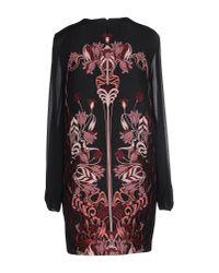 Giamba - Black Liberty Jacquard Long Sleeve Dress - Lyst
