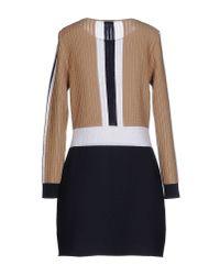 Neera - Black Short Dress - Lyst