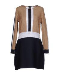 Neera | Black Short Dress | Lyst