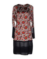 Balenciaga | Red Short Dress | Lyst