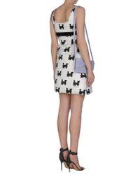 Au Jour Le Jour - Black Short Dress - Lyst