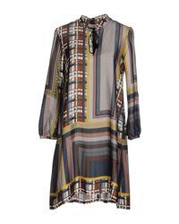Suoli | Black Short Dress | Lyst