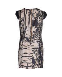 Alice San Diego - Black Contrast Back Dress - Lyst