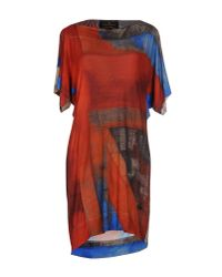 Vivienne Westwood Anglomania | Multicolor Short Dress | Lyst
