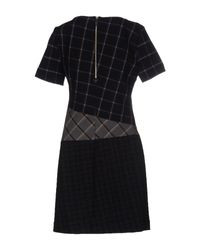 Band of Outsiders - Blue Short Dress - Lyst