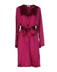 Lanvin - Blue Short Dress - Lyst