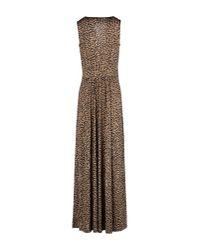 MICHAEL Michael Kors - Multicolor Long Dress - Lyst