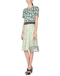 Stella McCartney - Green Knee-length Dress - Lyst