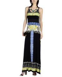 Etro - Black Long Dress - Lyst