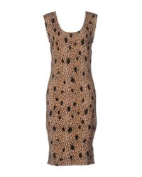 Guess | Multicolor Knee-length Dress | Lyst