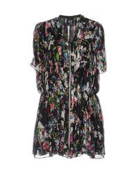 Alexander McQueen | Black Short Dress | Lyst