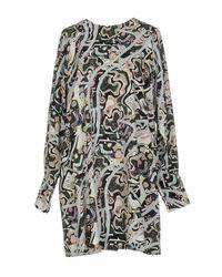 MSGM | Green Short Dress | Lyst