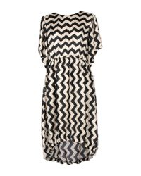 Souvenir Clubbing Black Knee-length Dress