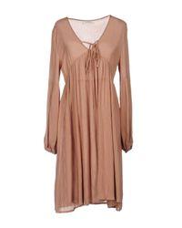 Glamorous - Multicolor Short Dress - Lyst