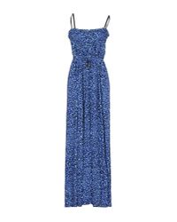 Juicy Couture | Blue Long Dress | Lyst