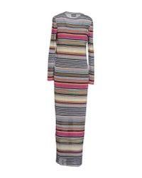 Missoni - Multicolor Long Dress - Lyst