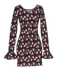 Met - Black Short Dress - Lyst