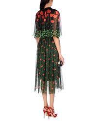 Gucci - Black 3/4 Length Dress - Lyst