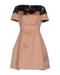 Clips | Pink Short Dress | Lyst