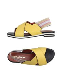 Sonia Rykiel - Yellow Sandals - Lyst
