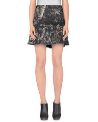Lala Berlin - Black Mini Skirt - Lyst