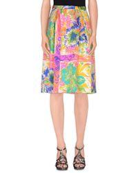 By Malene Birger - Multicolor Knee Length Skirt - Lyst