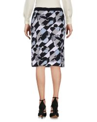 See By Chloé - Black Knee Length Skirt - Lyst