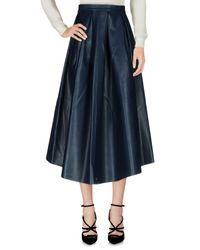 Urbancode - Blue 3/4 Length Skirt - Lyst
