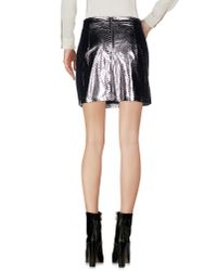 Sister Jane - Metallic Mini Skirt - Lyst