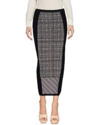 Antonio Marras | Black 3/4 Length Skirt | Lyst