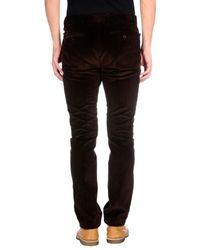 Hackett - Brown Casual Pants for Men - Lyst