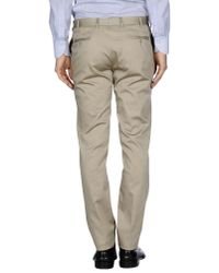Grey Daniele Alessandrini - Natural Casual Pants for Men - Lyst