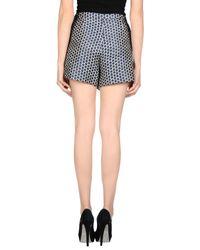 Pinko   Blue Mini Skirt   Lyst