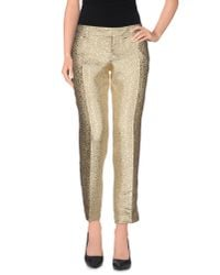 DSquared² - Metallic Casual Pants - Lyst