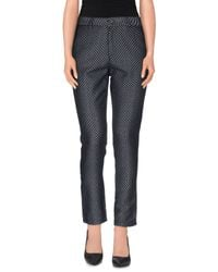 Ottod'Ame - Blue Casual Pants - Lyst