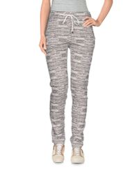 Lot78 - Gray Casual Pants - Lyst