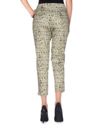 Ermanno Scervino - Green 3/4-length Trousers - Lyst