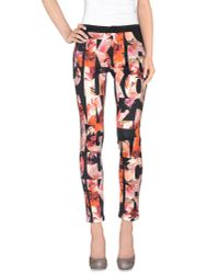 Pinko | Pink Casual Trouser | Lyst