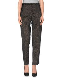 Theyskens' Theory | Black Casual Trouser | Lyst