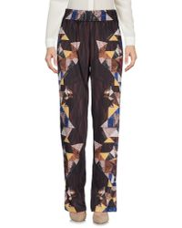 Just Cavalli - Brown Casual Trouser - Lyst
