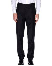 Dolce & Gabbana - Black Casual Pants for Men - Lyst