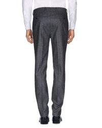 Mp Massimo Piombo - Gray Casual Pants for Men - Lyst