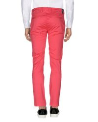 Yan Simmon - Pink Casual Trouser for Men - Lyst