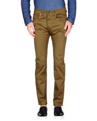 DIESEL - Green Casual Trouser for Men - Lyst